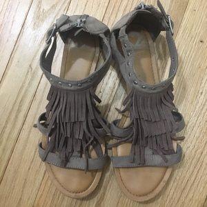 Fergalicious Fringe Sandals